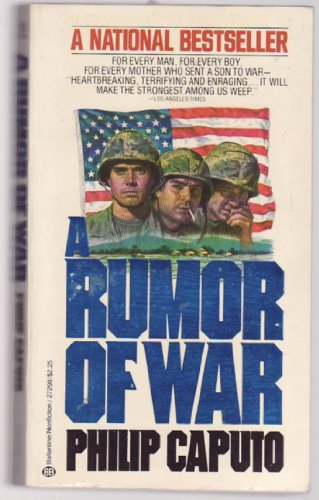 Rumor of War  N/A edition cover