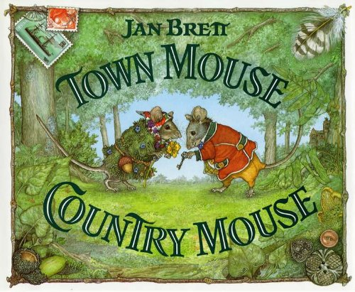 Town Mouse Country Mouse  N/A 9780399226229 Front Cover