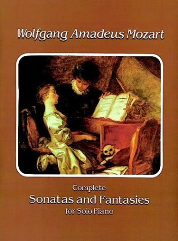 Complete Sonatas and Fantasies for Solo Piano  N/A edition cover