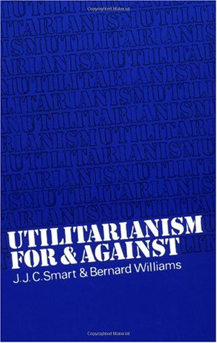 Utilitarianism For and Against  1973 edition cover