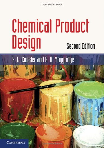 Chemical Product Design  2nd 2011 edition cover