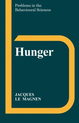 Hunger   1985 9780521311229 Front Cover