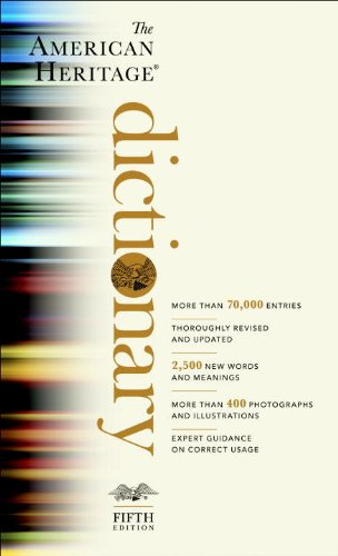 American Heritage Dictionary  5th edition cover