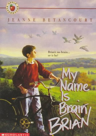 My Name Is Brain Brian   1993 edition cover