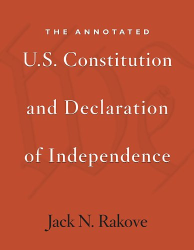 Annotated U. S. Constitution and Declaration of Independence   2009 edition cover