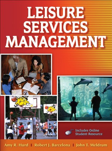Leisure Services Management with Web Resources   2008 edition cover