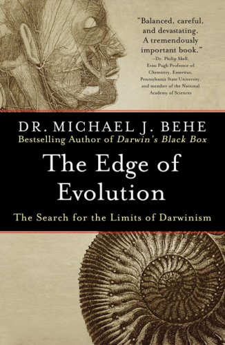 Edge of Evolution The Search for the Limits of Darwinism  2008 edition cover