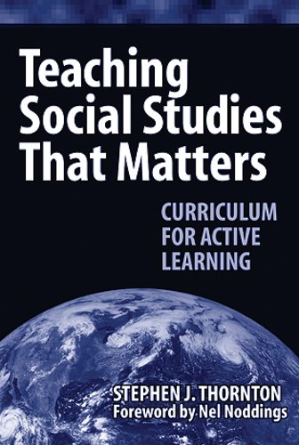 Teaching Social Studies That Matter Curriculum for Active Learning  2004 edition cover