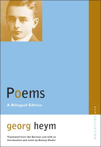 Georg Heym - Poems   2005 (Annotated) 9780810123229 Front Cover