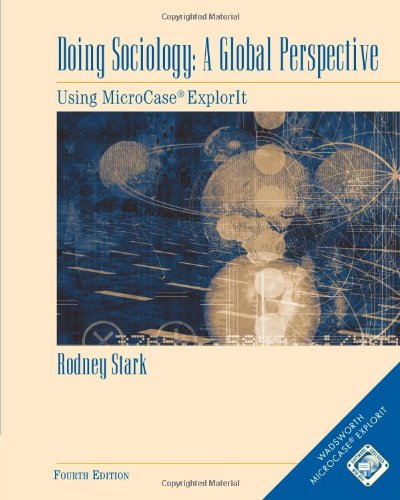 Doing Sociology A Global Perspective 4th 2002 edition cover