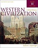 Bundle: Western Civilization: a Brief History, Volume II, 7th + Aplia 1-Semester Printed Access Card Western Civilization: a Brief History, Volume II, 7th + Aplia 1-Semester Printed Access Card 7th 9781133300229 Front Cover