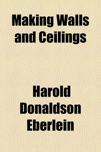 Making Walls and Ceilings  2010 edition cover
