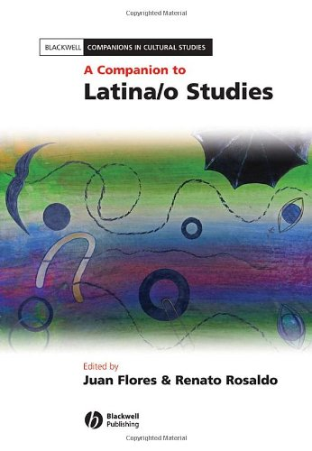 Companion to Latina/o Studies   2007 9781405126229 Front Cover