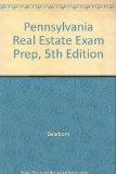 REAL ESTATE EXAM PREP:PENNSYLV N/A edition cover