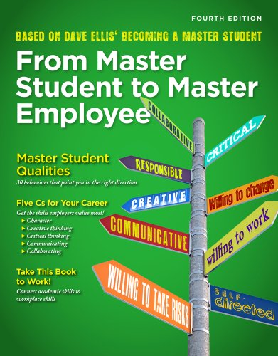 From Master Student to Master Employee  4th 2014 edition cover