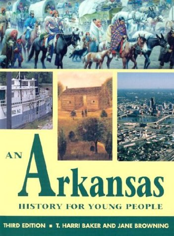 Arkansas History for Young People  3rd 2003 edition cover