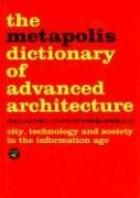 Metapolis Dictionary Advanced Architecture   2003 9788495951229 Front Cover