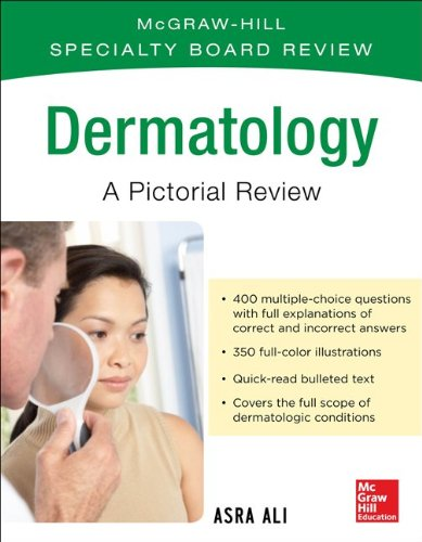 McGraw-Hill Specialty Board Review Dermatology a Pictorial Review 3/e  3rd 2015 edition cover