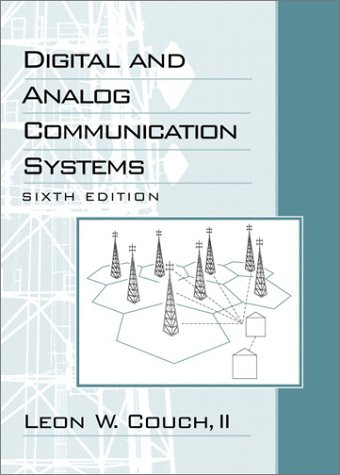 Digital and Analog Communication Systems  6th 2001 edition cover