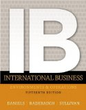 International Business  15th 2015 9780133457230 Front Cover