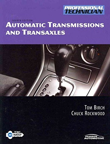 Automatic Transmissions and Transaxles with Natef Correlated Task Sheets  4th 2010 9780135099230 Front Cover