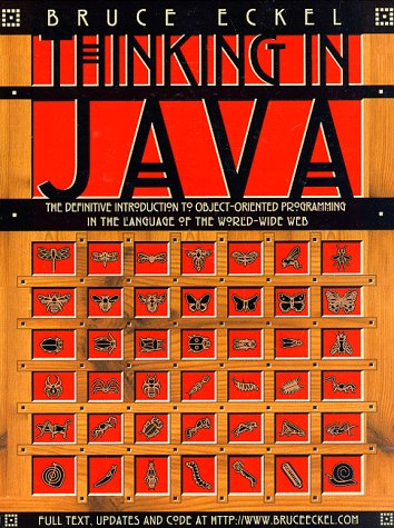 Thinking in Java   1998 edition cover