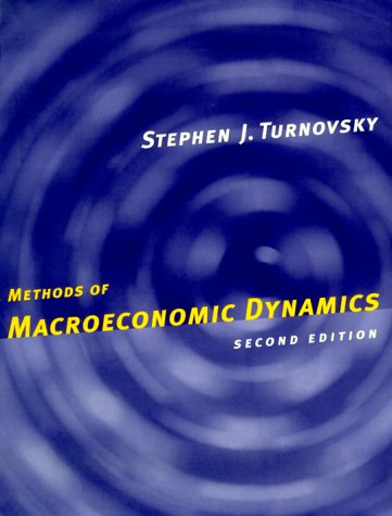 Methods of Macroeconomic Dynamics  2nd 2000 edition cover