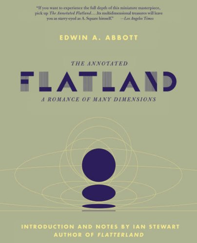 Annotated Flatland A Romance of Many Dimensions  2008 edition cover
