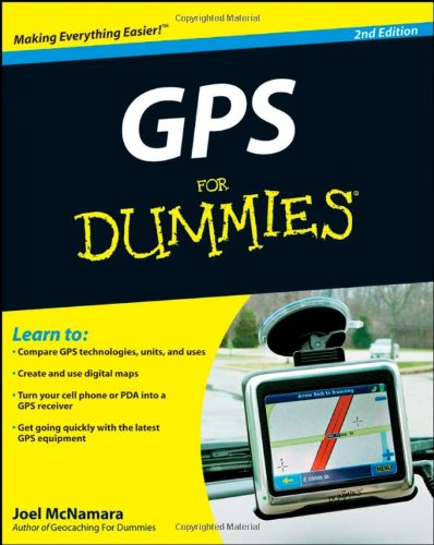 GPS for Dummies  2nd 2008 edition cover