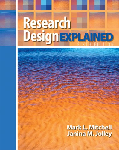 Research Design Explained  6th 2007 edition cover