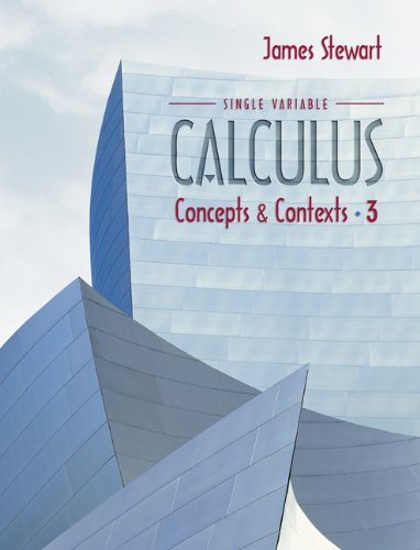Single Variable Calculus Concepts and Contexts 3rd 2005 (Student Manual, Study Guide, etc.) edition cover