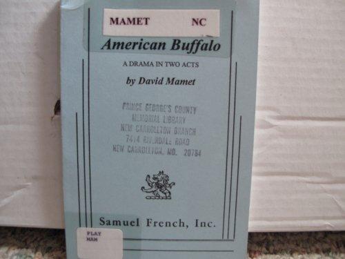 American Buffalo   1977 edition cover