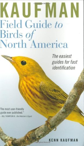 Kaufman Field Guide to Birds of North America   2005 edition cover