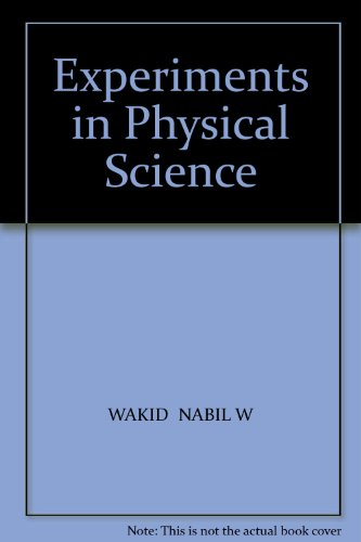 Experiments in Physical Science Revised  9780757583230 Front Cover