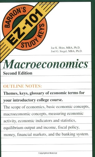 Macroeconomics  2nd 2005 edition cover