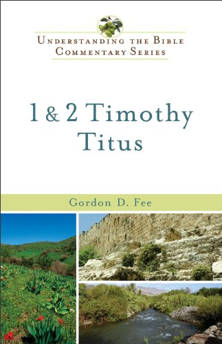 1 and 2 Timothy, Titus  N/A edition cover