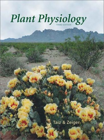 Plant Physiology  3rd 2002 edition cover