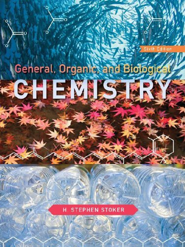 General, Organic, and Biological Chemistry  6th 2013 edition cover