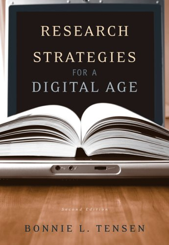 Research Strategies for a Digital Age  2nd 2007 (Revised) edition cover