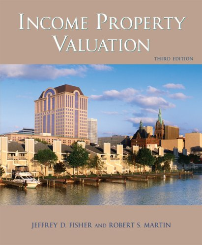Income Property Valuation  3rd 2008 edition cover