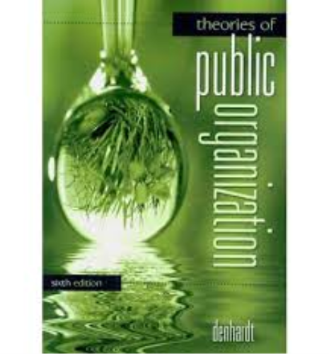 Theories of Public Organization  6th 2011 edition cover