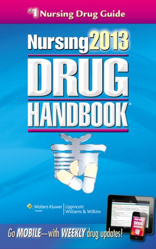 Nursing 2013 Drug Handbook  33rd 2013 (Revised) edition cover