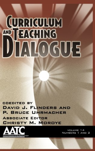 Curriculum and Teaching Dialogue:   2012 edition cover