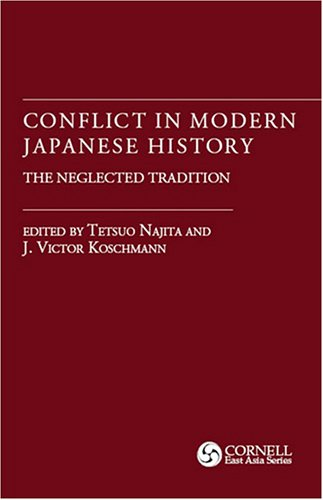 Conflict in Modern Japanese History The Neglected Tradition  2010 (Reprint) edition cover