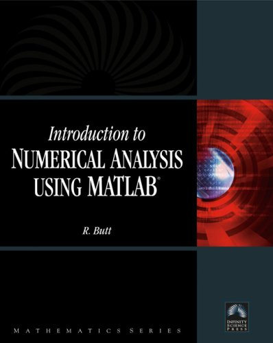 Introduction to Numerical Analysis Using MATLAB   2008 edition cover