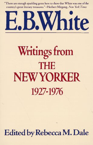 Writings from the New Yorker, 1927-1976   1990 (Reprint) edition cover