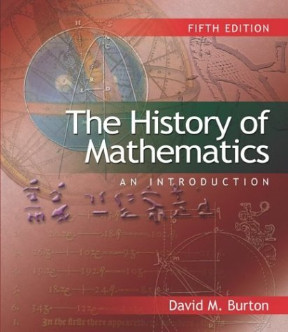 History of Mathematics An Introduction 5th 2003 (Revised) 9780072885231 Front Cover