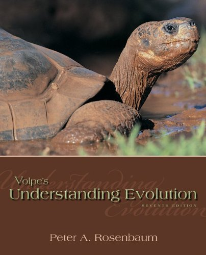 Volpe's Understanding Evolution  7th 2011 edition cover