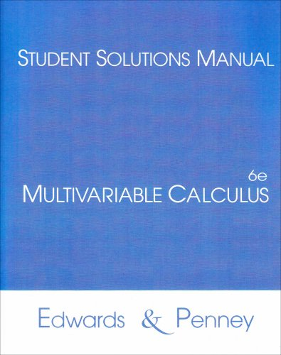 Multivariable Calculus  6th 2002 edition cover