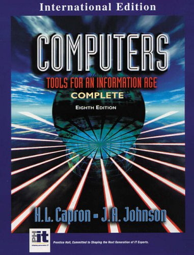 Computers: Tools for an Information Age (International Edition) N/A edition cover